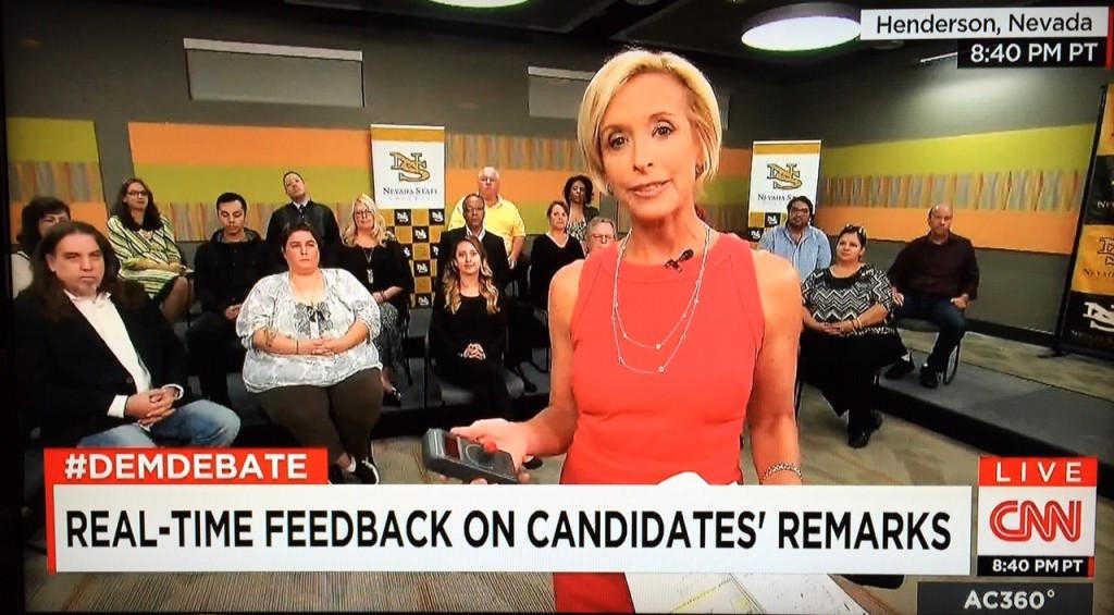 CNN 2015 Dem Debate Perception Analyzer 1