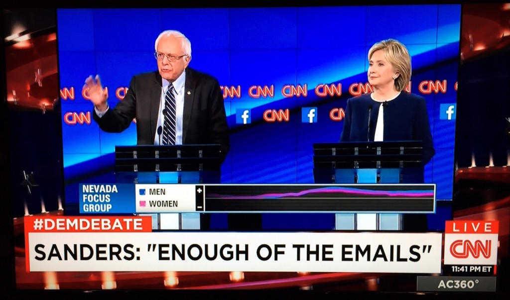 CNN 2015 Dem Debate Perception Analyzer