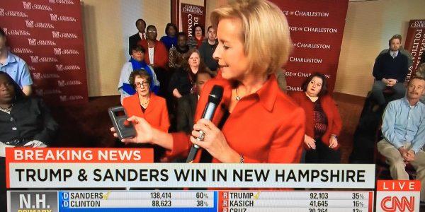Presidential Primaries 2016: CNN Perception Analyzer dial testing