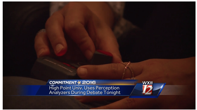 Dial testing focus group High Point University