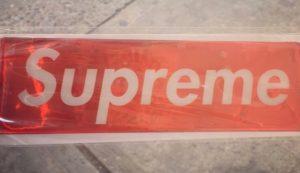 My Supreme New York sticker