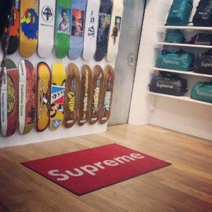 Supreme New York Store interior