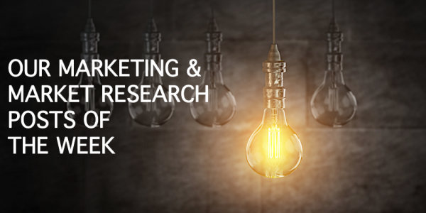 Market Research Posts of the Week
