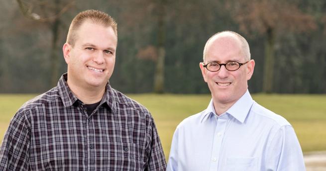 David Paull and Rich Thau, Engagious Co-Founders